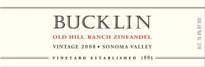 Bucklin Zinfandel 2008